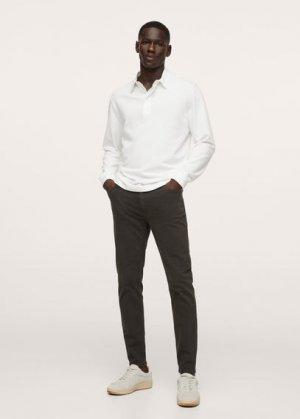 Цветные джинсы скинни - Billy Mango. Цвет: угольно-серый