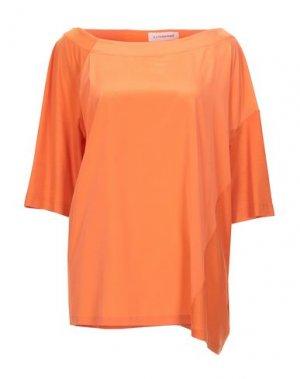 Блузка A.F.VANDEVORST. Цвет: оранжевый