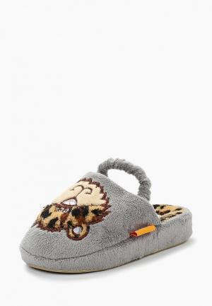 Тапочки Dream Feet. Цвет: серый