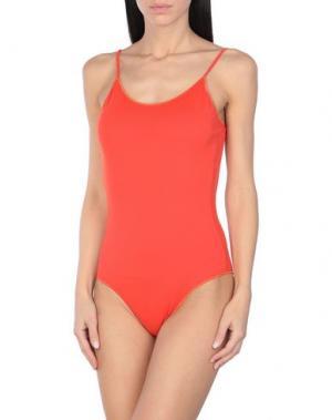 Слитный купальник I-AM. Цвет: оранжевый