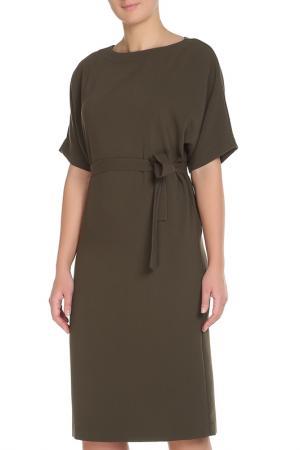 Платье Cyrille Gassiline. Цвет: марон