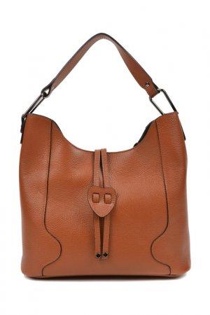 Handbag CARLA FERRERI. Цвет: brown