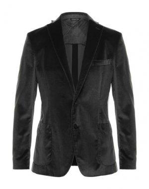 Пиджак TONELLO. Цвет: стальной серый