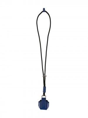 Чехол для AirPods со шнурком на шею Ports V. Цвет: синий