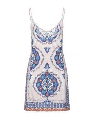 Короткое платье HALE BOB. Цвет: светло-розовый