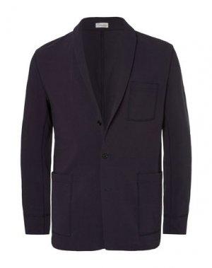 Пиджак CAMOSHITA by UNITED ARROWS. Цвет: темно-синий
