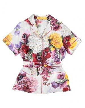 Pубашка DOLCE & GABBANA. Цвет: белый