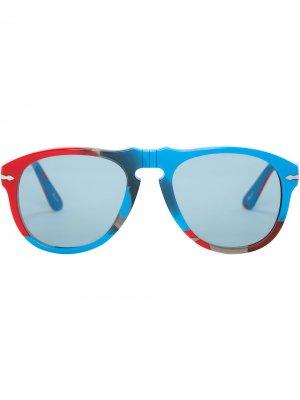 Солнцезащитные очки-авиаторы JW Anderson. Цвет: красный