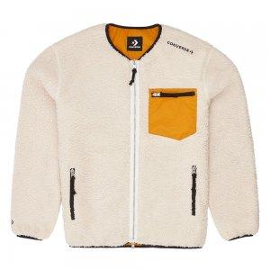 Collarless Reversible Utility Sherpa Jacket Converse. Цвет: мульти