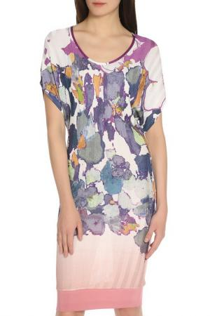 Платье-туника Etro. Цвет: сиренево-белый
