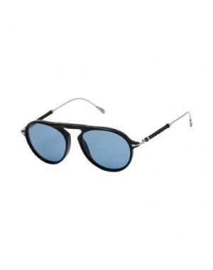 Солнечные очки TOD'S. Цвет: черный