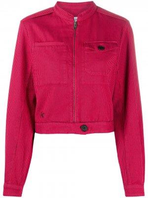 Укороченная джинсовая куртка Kenzo. Цвет: розовый