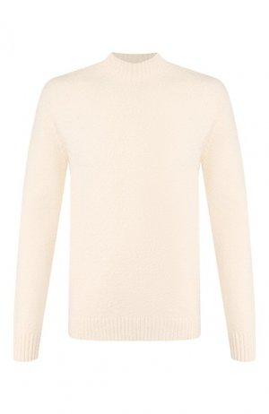 Хлопковый свитер Drykorn. Цвет: бежевый