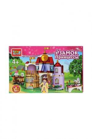 Замок принцессы с фигурками Город мастеров. Цвет: розовый