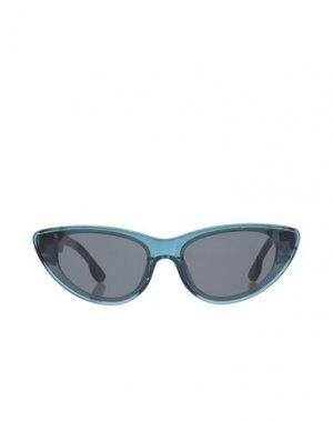 Солнечные очки KOMONO. Цвет: цвет морской волны