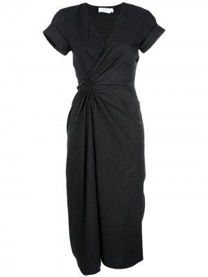 Платье Edie A.L.C.. Цвет: черный