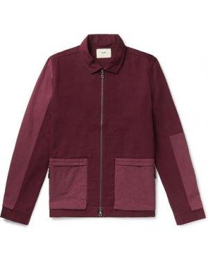 Куртка FOLK. Цвет: красно-коричневый