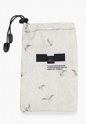 Чехол для чемодана Routemark Использованы фрагменты японской декоративной бумаги.Пушкинский музей.L/XL(SP310). Цвет: черный