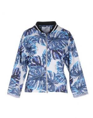 Куртка GAëLLE Paris. Цвет: синий