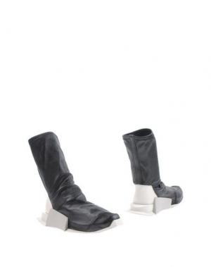 Полусапоги и высокие ботинки RICK OWENS x ADIDAS. Цвет: черный