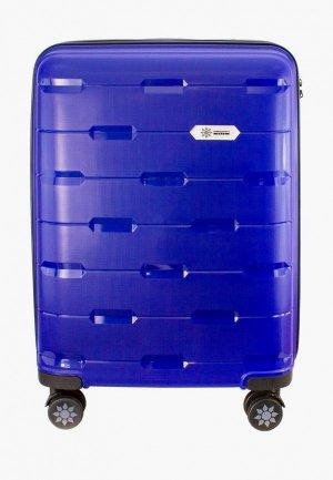 Чемодан Proffi travel Tour Fashion, M. Цвет: синий