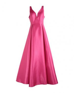 Длинное платье MIKAEL. Цвет: пурпурный