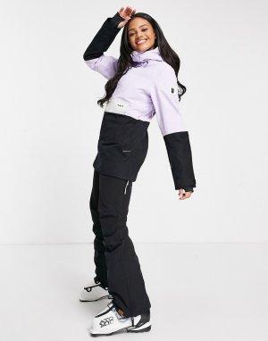 Сиреневая горнолыжная куртка-анорак Overstoke-Фиолетовый Planks