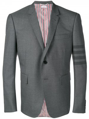 Костюмный пиджак Thom Browne. Цвет: серый
