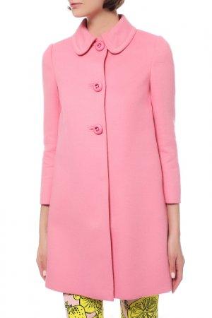 Пальто Prada. Цвет: розовый