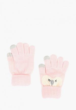 Перчатки Modis. Цвет: розовый