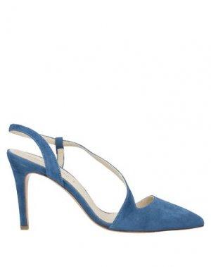 Туфли ALBERTO BRESSAN. Цвет: грифельно-синий