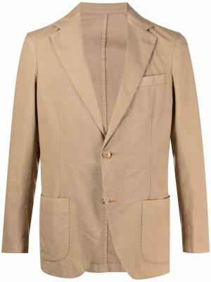 Однобортный пиджак Altea. Цвет: нейтральные цвета