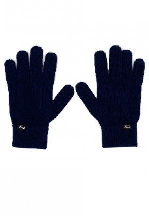 Перчатки EA7. Цвет: синий