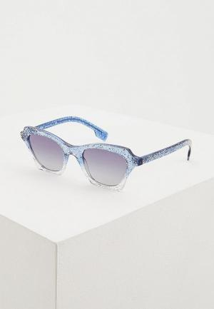 Очки солнцезащитные Burberry BE4283 37724L. Цвет: голубой
