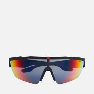 Солнцезащитные очки 03XS-DG008F-2N Prada Linea Rossa. Цвет: чёрный