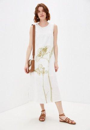 Платье Electrastyle. Цвет: белый