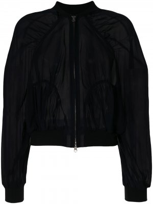 Многослойная куртка-бомбер Enföld. Цвет: синий
