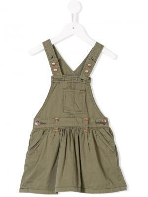 Сарафан с карманом American Outfitters Kids. Цвет: зеленый