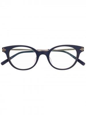 Очки M2022 в оправе кошачий глаз Matsuda. Цвет: синий