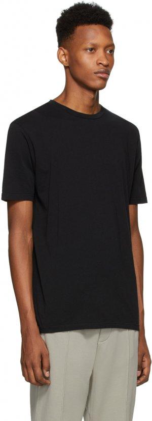 Black Logo Printed T-Shirt Haider Ackermann. Цвет: black