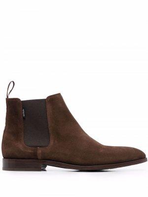 Ботинки челси PS Paul Smith. Цвет: коричневый