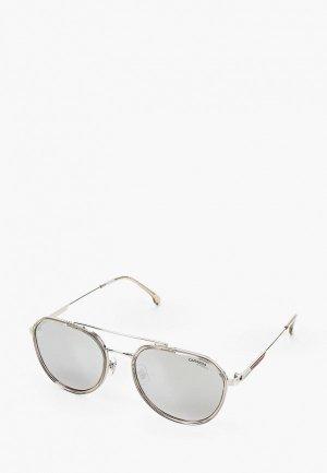 Очки солнцезащитные Carrera 1028/GS 0IH. Цвет: серый