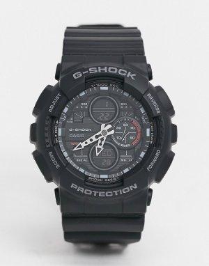 Черные часы G Shock GA-140GB-Черный Casio
