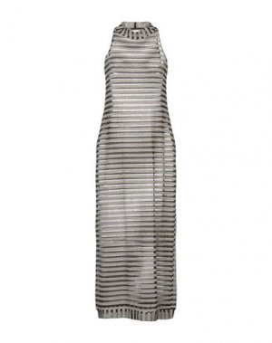 Платье длиной 3/4 F**K PROJECT. Цвет: черный