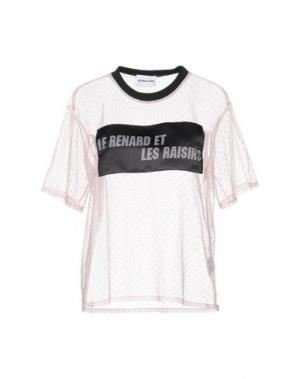 Блузка AU JOUR LE. Цвет: розовый