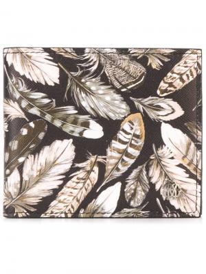 Бумажник Leo Camouflage Roberto Cavalli. Цвет: многоцветный