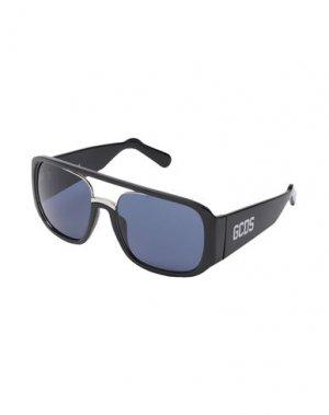 Солнечные очки GCDS. Цвет: темно-синий