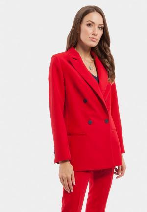 Пиджак Vladi Collection. Цвет: красный