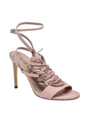 Босоножки Alberto Gozzi. Цвет: розовый