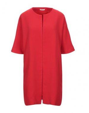 Легкое пальто EMMA & GAIA. Цвет: красный